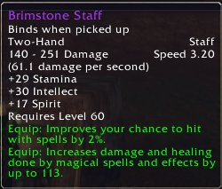 Brimstone Staff