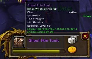 Ghoul Skin Tunic