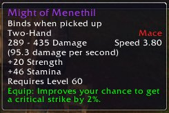 Might of Menethil