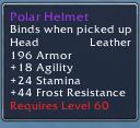 Polar Helmet