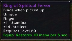 Ring of Spiritual Fervor