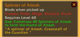 Splinter of Atiesh